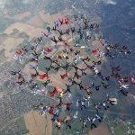 Saut en Parachute : Vol Relatif