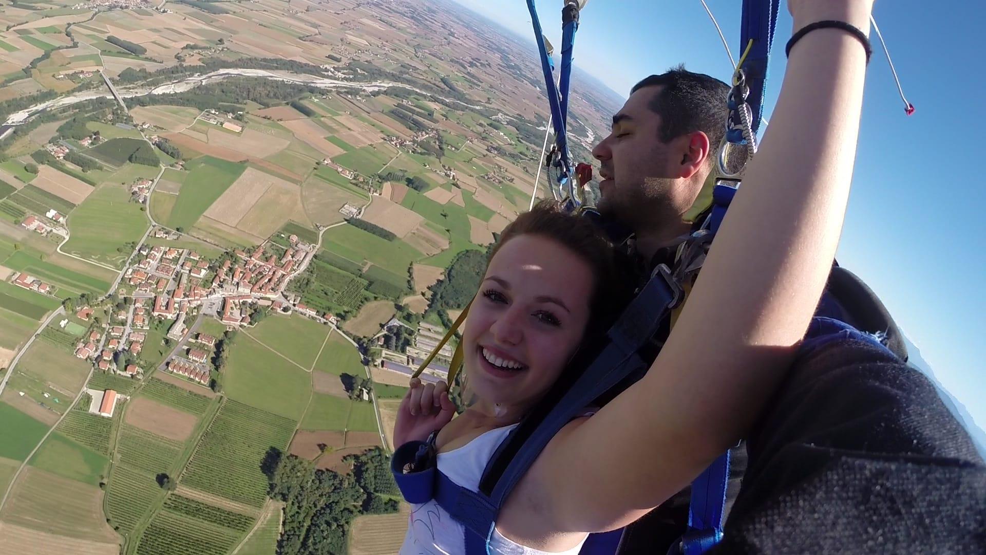 Promo saut en parachute tandem 4200 m 199 - Saut en parachute bretagne pas cher ...