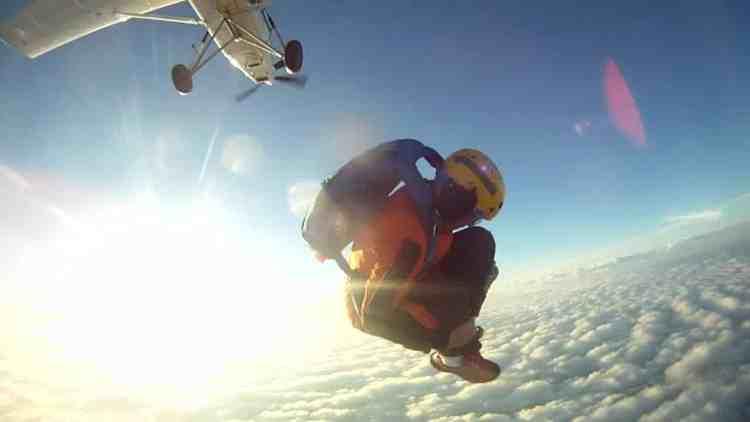 """Formation PAC, Formation Parachutisme, sortie """"boule"""""""