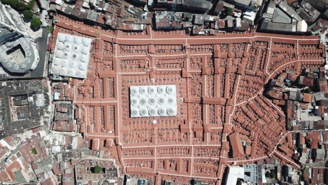 Grand Bazaar from Air