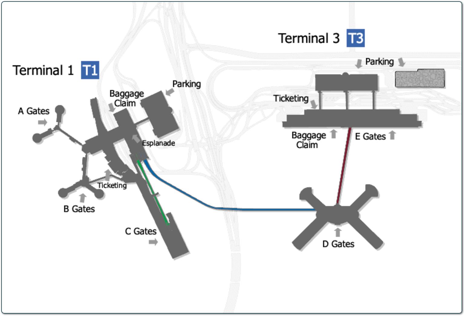Mccarran Airport Parking Guide Find Cheap Rates Near Las