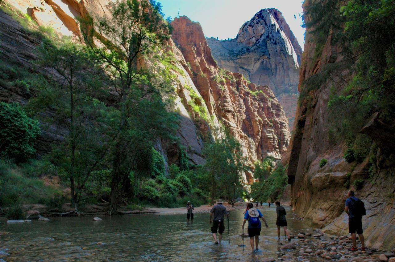 Summer Road Trip - Zion National Park - Airports and Sunsets