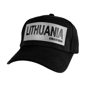 Kepuraitė LITHUANIA COLLECTION juoda