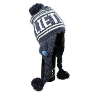 Žieminė ilga kepurė LIETUVA melsva