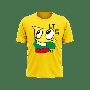 Vaikiški marškinėliai TRISPALVIS VEIDUKAS