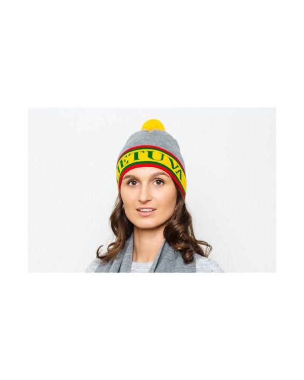 Lietuviškos atributikos kepurė LIETUVA