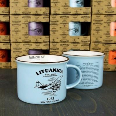 Keramikinis puodelis su istorija LITUANICA
