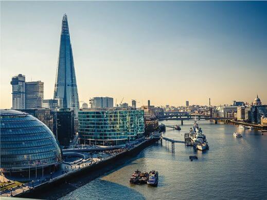 London Shard River View