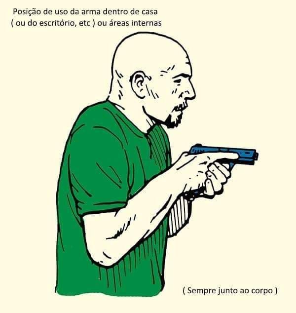 como portar el arma