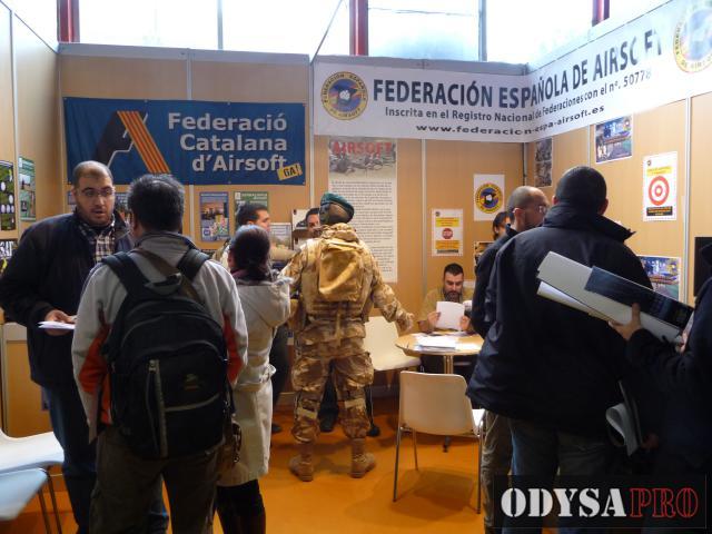 Reportaje fotográfico de la Feria de Airsoft FAIRSOFT Foto-reportajes