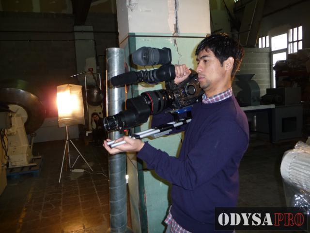 Reportaje del Making Of del cortometraje Last Chance Foto-reportajes