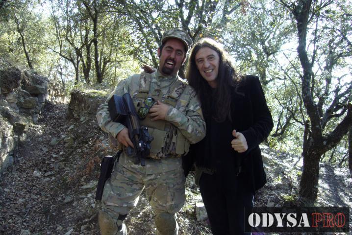 Reportaje fotográfico del rodaje del videoclip Voldria Aprendre con Gerard Quintana Foto-reportajes