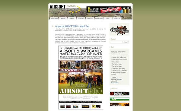 Feria de Airsoft: AIRSOFT PRO 2011 Airsoft Pro 2011