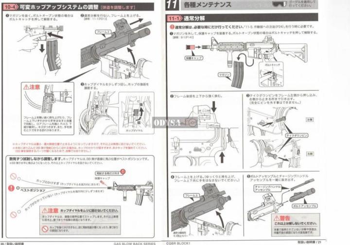 Review y manual del CQBR BLOCK1 MWS de Tokyo Marui Técnico