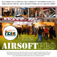Feria de Airsoft: 26 y 27 de junio de 2021
