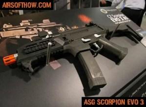 ASG Scorpion EVO 3 - Airsoft gun