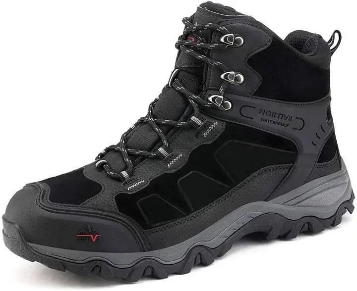 NORTIV 8 Men's Waterproof Hiking Boots