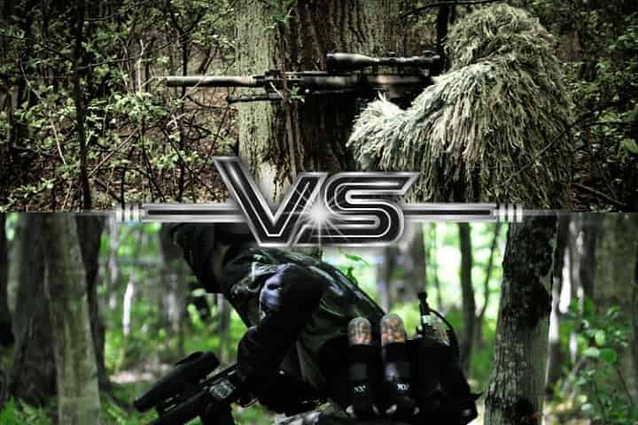 Which one is more painful Airsoft or Paintball