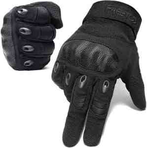 FREETOO Knuckle Tactical Gloves for Men Military Gloves.