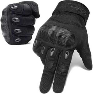 FREETOO Knuckle Tactical Gloves for Men Military Gloves.