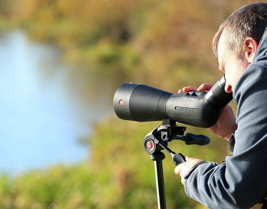 spotting scope distance
