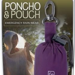 Set de pluie poncho / Emergency rain wear