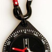 Boussole avec mousqueton / Compass carabiner – by Silva