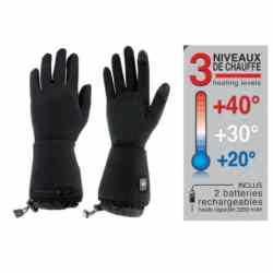 Gants chauffants et tactiles / Heating and tactile gloves – Sancy by Wantalis