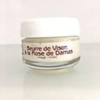 Beurre de vison à la rose de Damas / Mink butter with Rose from Damascus – 30ml