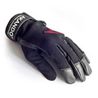 Gants cuir et kevlar / Soft leather and kevlar gloves – by Akando