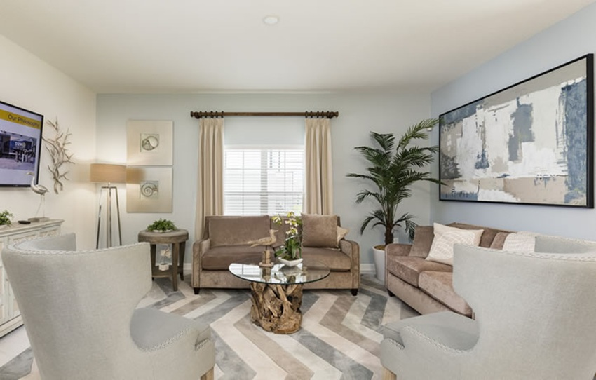 Living Room Champions Gate Royal Palm