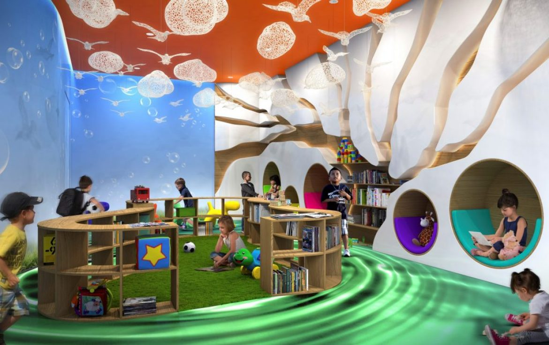 Acqualina Children Room