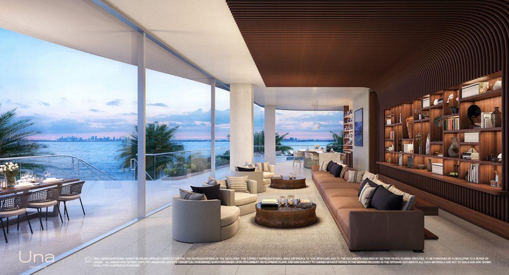 Una Residences Level 3 Lounge