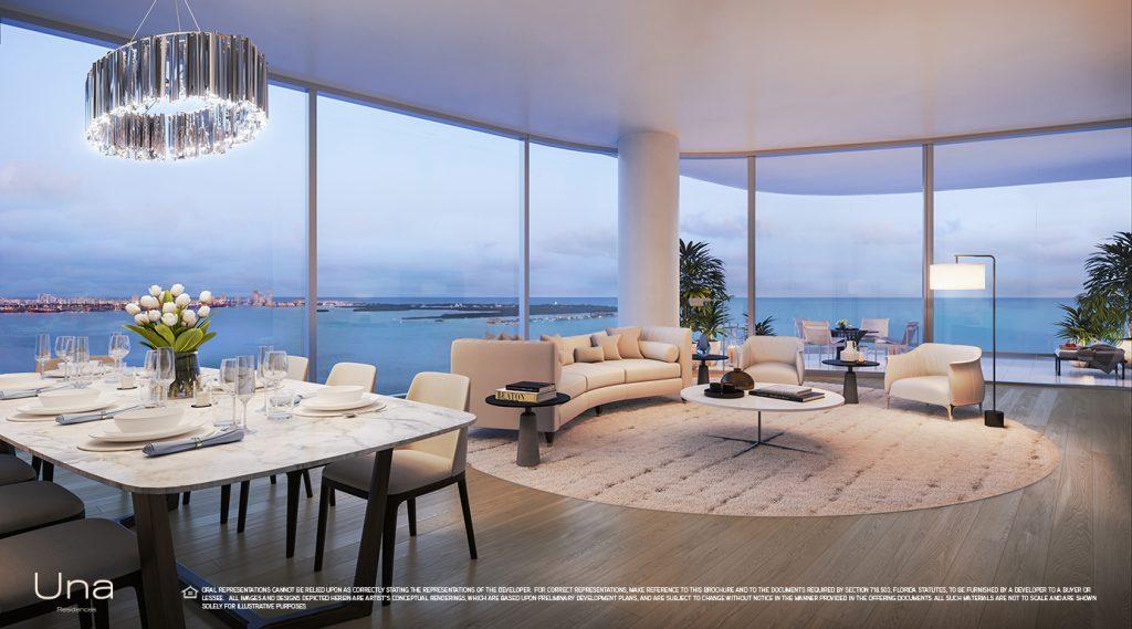 Una Residences Living Room