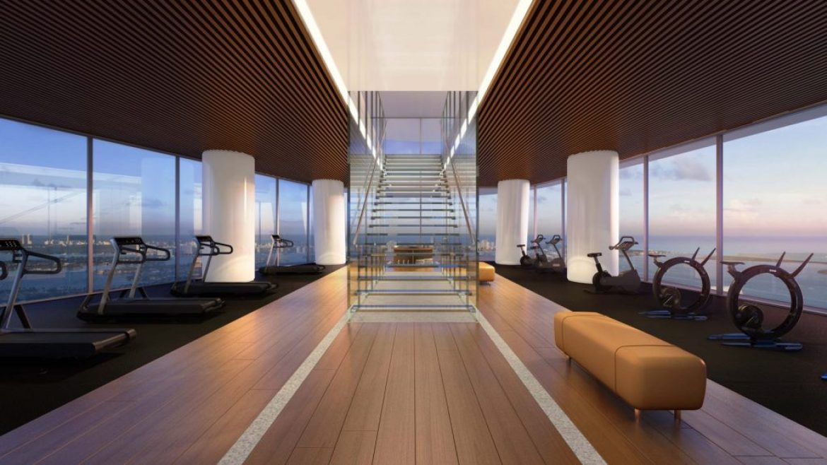 Aston Martin Fitness Center