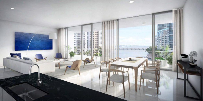 River Residence Living Room