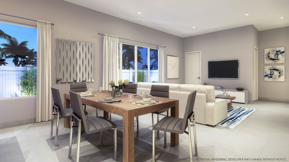 Spectrum Living room and dining