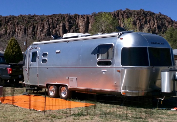 airstream in ft davis
