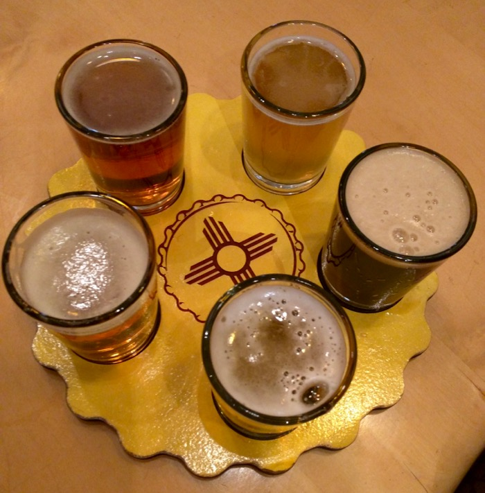 santa fe brewery tasting