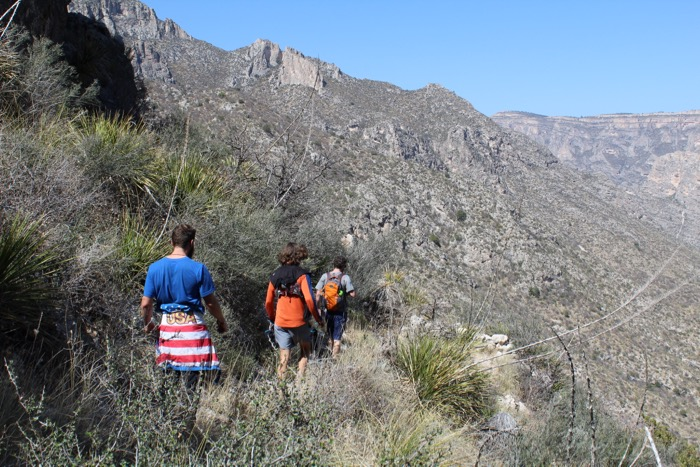 hiking mckittrick canyon