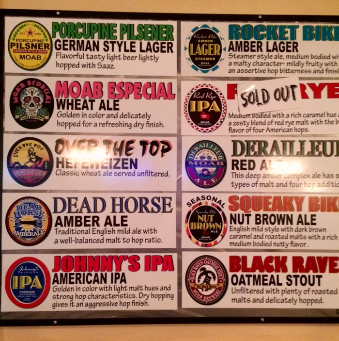 moab brewery beer list