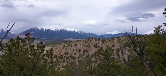 buena vista turret trail hike