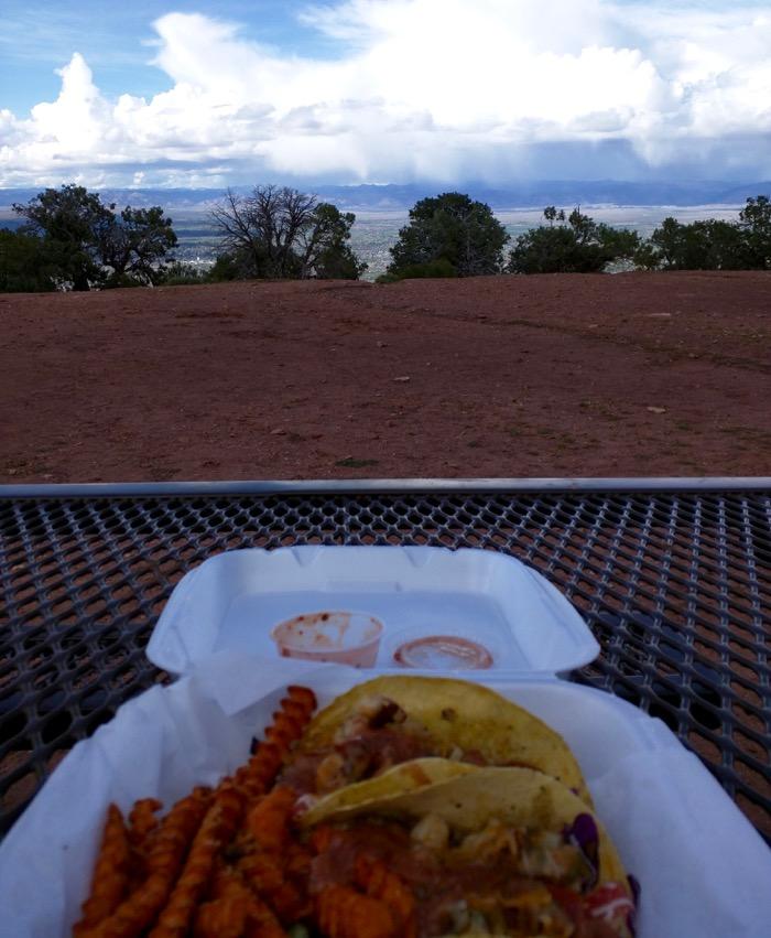 colorado national monument fish tacos