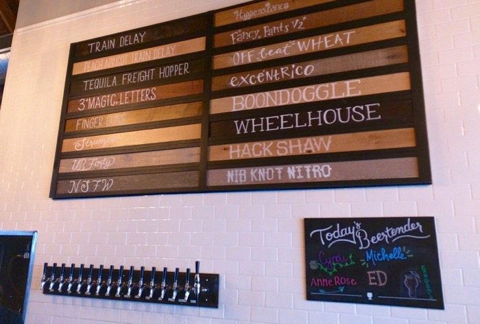 jessup farm barrel house beer list