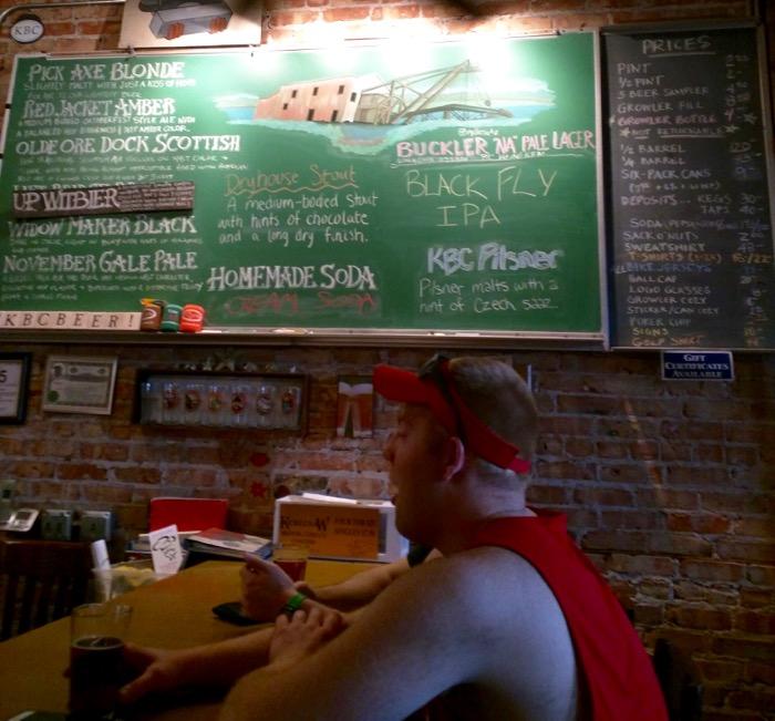 keweenaw brewing houghton beer list