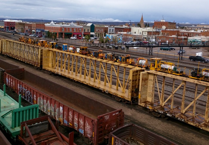 laramie railroad downtown