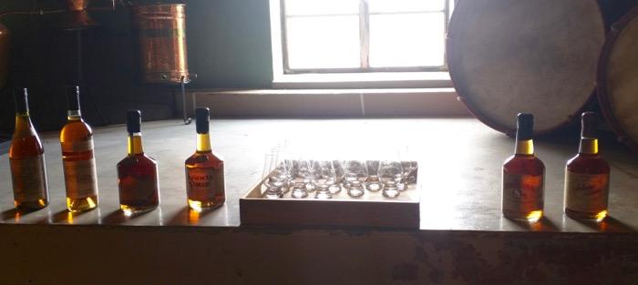 willetts bourbon tasting