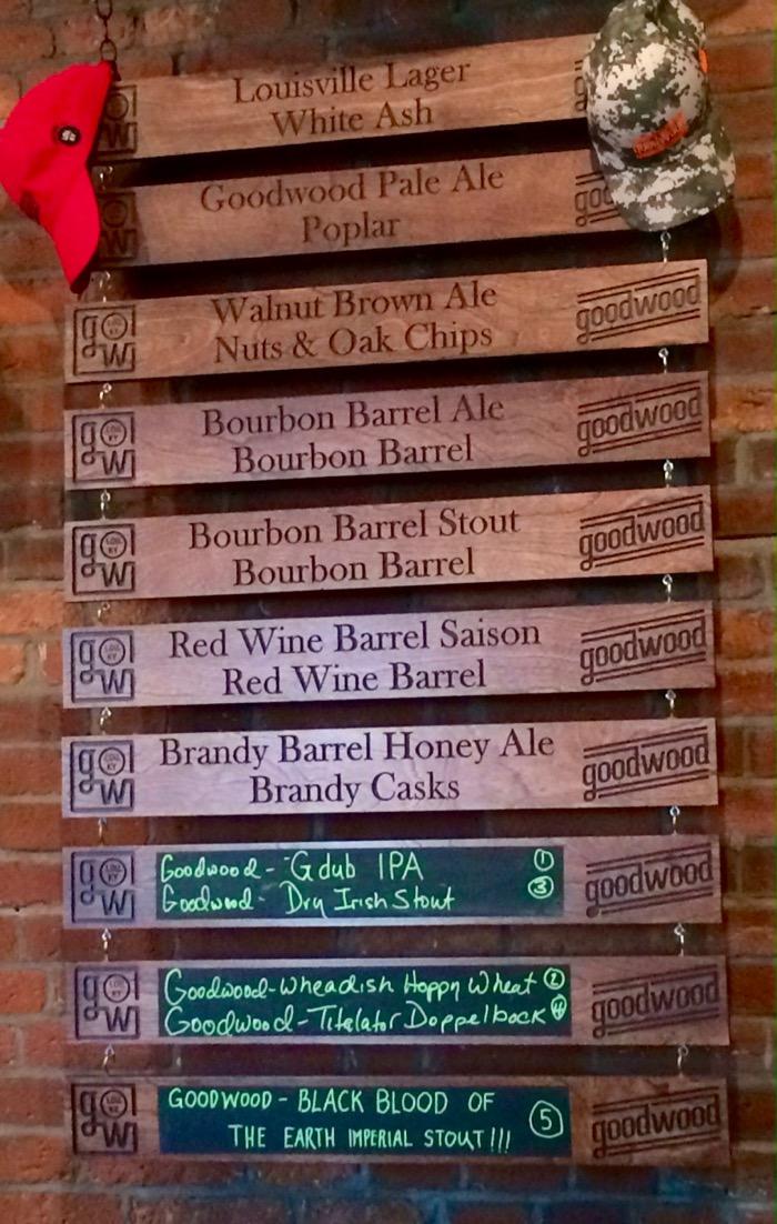 goodwood beer list