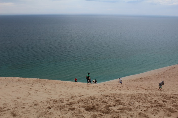 sleeping bear dunes national lakeshore dune climbing