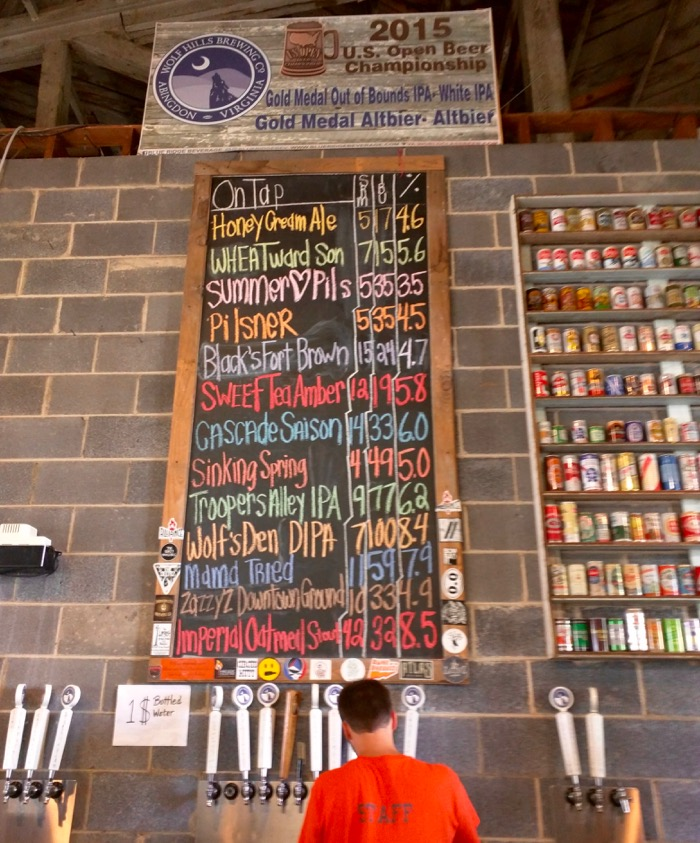wolf hills brewery abingdon va